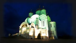 World Famous Huge Monastery in a Tiny Provincial Russian Village