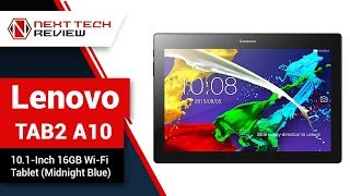 Lenovo TAB2 A10 ZA000001US 10 1 Inch 16GB Wi Fi Tablet Midnight Blue Product Review  – NTR