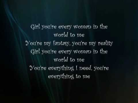 Air Supply  Every Woman In The World Lyrics