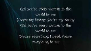 Air Supply - Every Woman In The World Lyrics