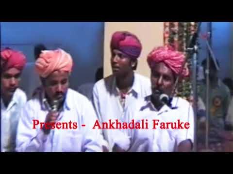 Nazeer Khan Saheb Satto | Ankhadali Faruke