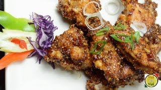 Chicken Wings Peanut Sauce - By Vahchef @ Vahrehvah.com