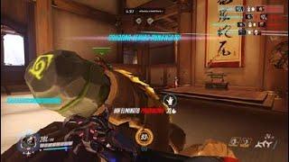 Overwatch: Clip 18 deflect hanzo