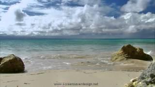 Красивый морской прибой - Nature Relax Screensaver, Marie Galante