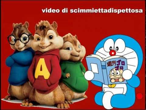 Alvin e i Chipmunks cantano TUTTE le sigle di Doraemon (アルビンとチップマンクスは ドラえもんの全ての略語を歌う)