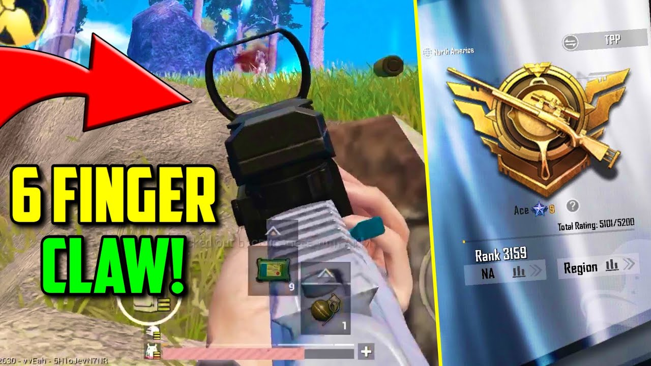 How SIX FINGER claw player DOMINATES in PUBG Mobile!! *INSANE* | Ace Asia