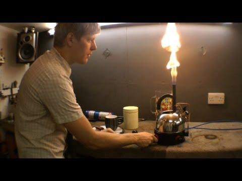 THE JETTLE pulsejet powered kettle (longer version)