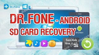 Dr Fone - World's 1st Android SD Card Recovery Tutorial