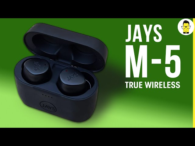 Jays m-5 True Wireless review: good looks & great sound for Rs 5K | Comparison with OPPO W51