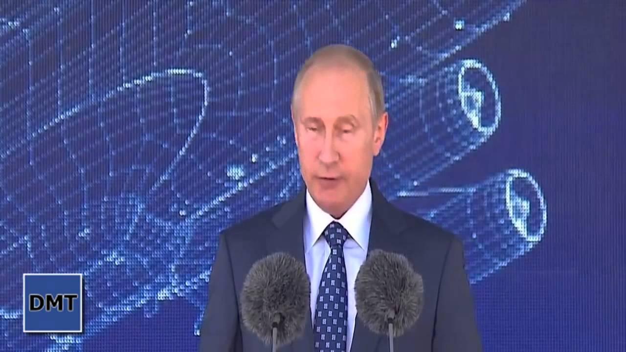 Путин на открытии МАКС 2015 смотреть