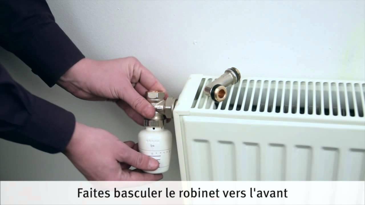 installer et raccorder un radiateur eau chaude youtube