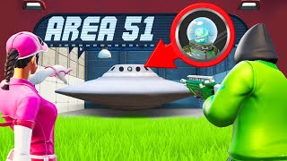 I SNITCHED An ALIEN In AREA 51! (Fortnite Snitch Hide And Seek)