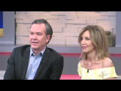 Felicity Huffman & Timothy Hutton interview on Good Morning America promoting ABC 'American Crime'