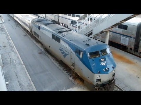 Railfanning: A Trip on Amtrak