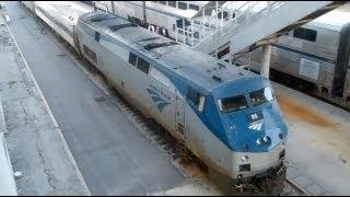 Railfanning: A Trip on Amtrak