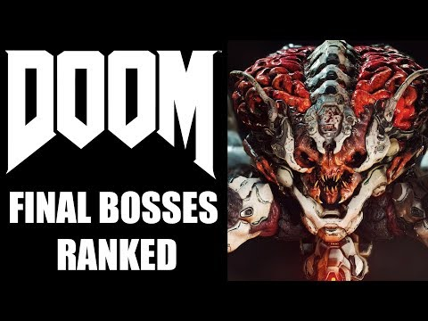 DOOM Series - Ranking All Final Bosses From WORST TO BEST