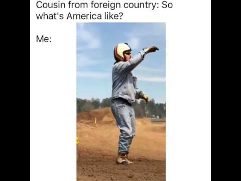 cousin from foreign country so whats america like me this 21708017