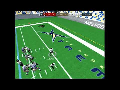 Axis Football '17: Las Vegas Outlaws vs Los Angeles Xtreme (XFL West Finals)
