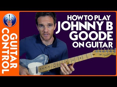 learn to play johnny b goode on guitar