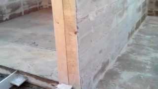 Дом из опилкобетона как убрать трещины после заливки полов 19 09 2015