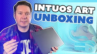 2015 Wacom INTUOS ART Review - Unboxing