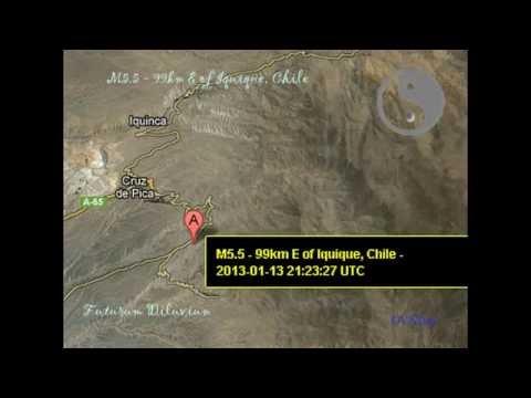 M5.5 - 99km E of Iquique, Chile