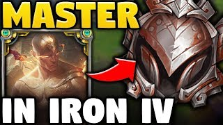 I TOOK MY LEE SIN INTO IRON IV ELO FOR THE FIRST TIME! | Hilarity Ensues - League of Legends