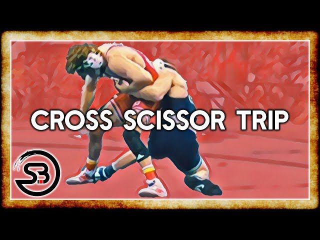 Cross Scissor Trip Takedown for BJJ & MMA - Analysis