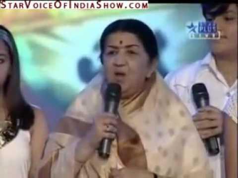 HARSHIT SAXENA || LATA MANGESHKAR JI ANNOUNCES THE RESULT || VOICE OF INDIA GRAND FINALE PART 1