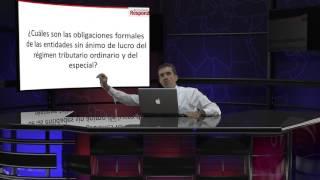Obligaciones de las ESAL del régimen tributario ordinario y del especial