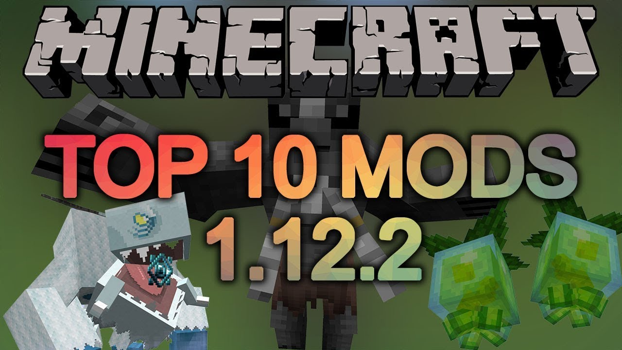Top 10 Minecraft Mods (1 12 2) - February 2019