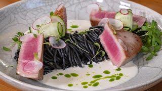Хитрый ресторанный рецепт для романтического ужина. Как использовать зеленое масло.