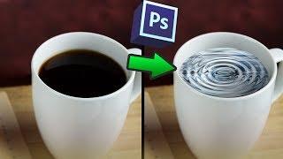 Как заменить часть изображения в фотошопе