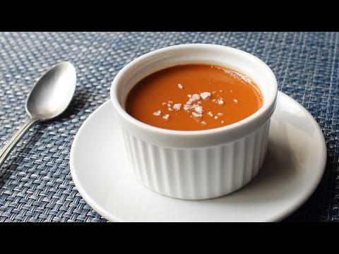 Salted Caramel Custard Recipe - How to Make Salted Caramel Pots de Creme