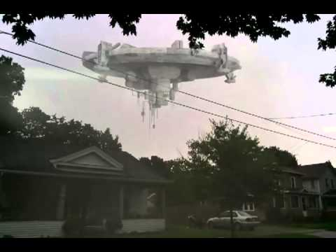 UFO spotted in Tecumseh Michigan