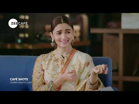 Café Shots | Quickie Round With Alia Bhatt | Starry Nights 2.OH!