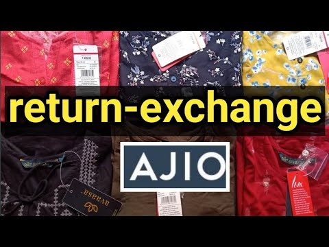 how to return- exchange product ajio in telugu ajio return exchange policy in telugu