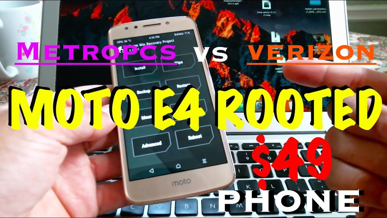 $49 MOTO 4E ROOTED & UNLOCKED METROPCS WHY ITS BETTER THAN