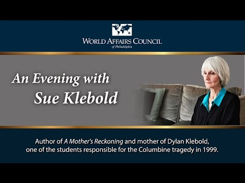 The World Affairs Council of Philadelphia presents Susan Klebold