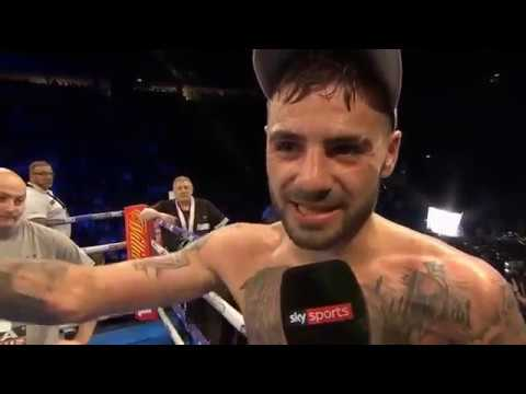 LEWIS RITSON ~ POST FIGHT INTERVIEW ~ ON BECOMING BRITISH CHAMP