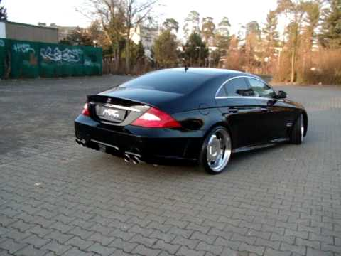 mec design w219 cls550 bodykit wheels exhaust youtube. Black Bedroom Furniture Sets. Home Design Ideas