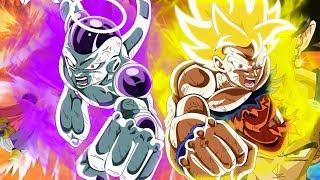 LEGENDARY LUCK IS REAL! LR Goku & Frieza Summons   DBZ Dokkan Battle