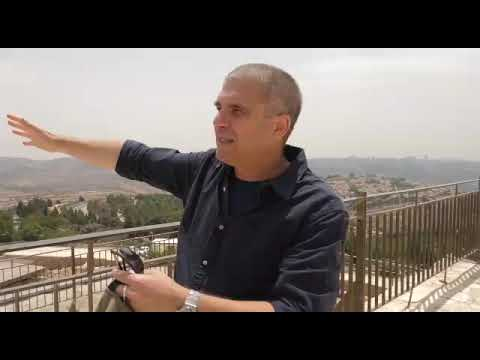 Brigadier- General (Res.) Gal Hirsch - Tour to Prophet Samuel's Tomb- Episode 2