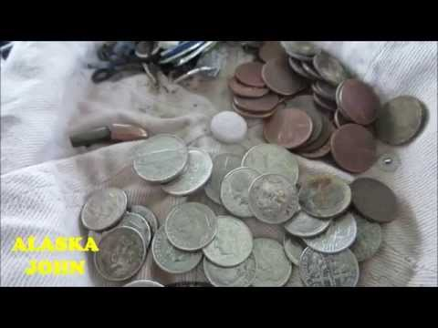 ALASKA METAL DETECTING - Eagle River Town Square Park