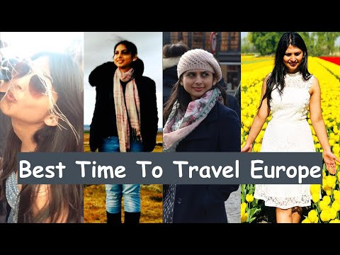 Best Month To Travel Europe From India | How To Plan Europe Trip From India | Desi Couple On The Go