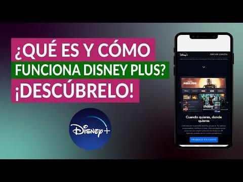 ¿Qué es y Cómo Funciona Disney Plus? La Plataforma de Streaming con todo el Contenido de Disney