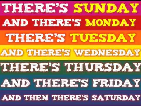 Days of the Week clap clap!       to the tune of the Addams Family