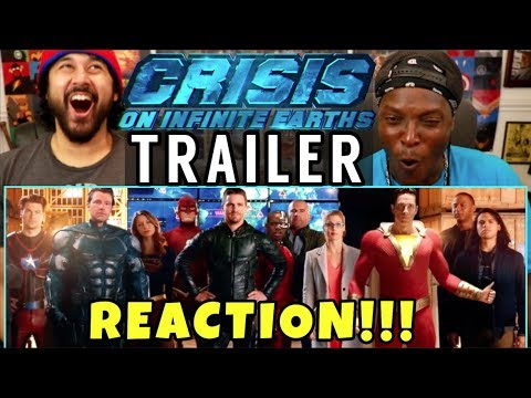 CRISIS ON INFINITE EARTHS (DC) - Theatrical Trailer | REACTION!!!