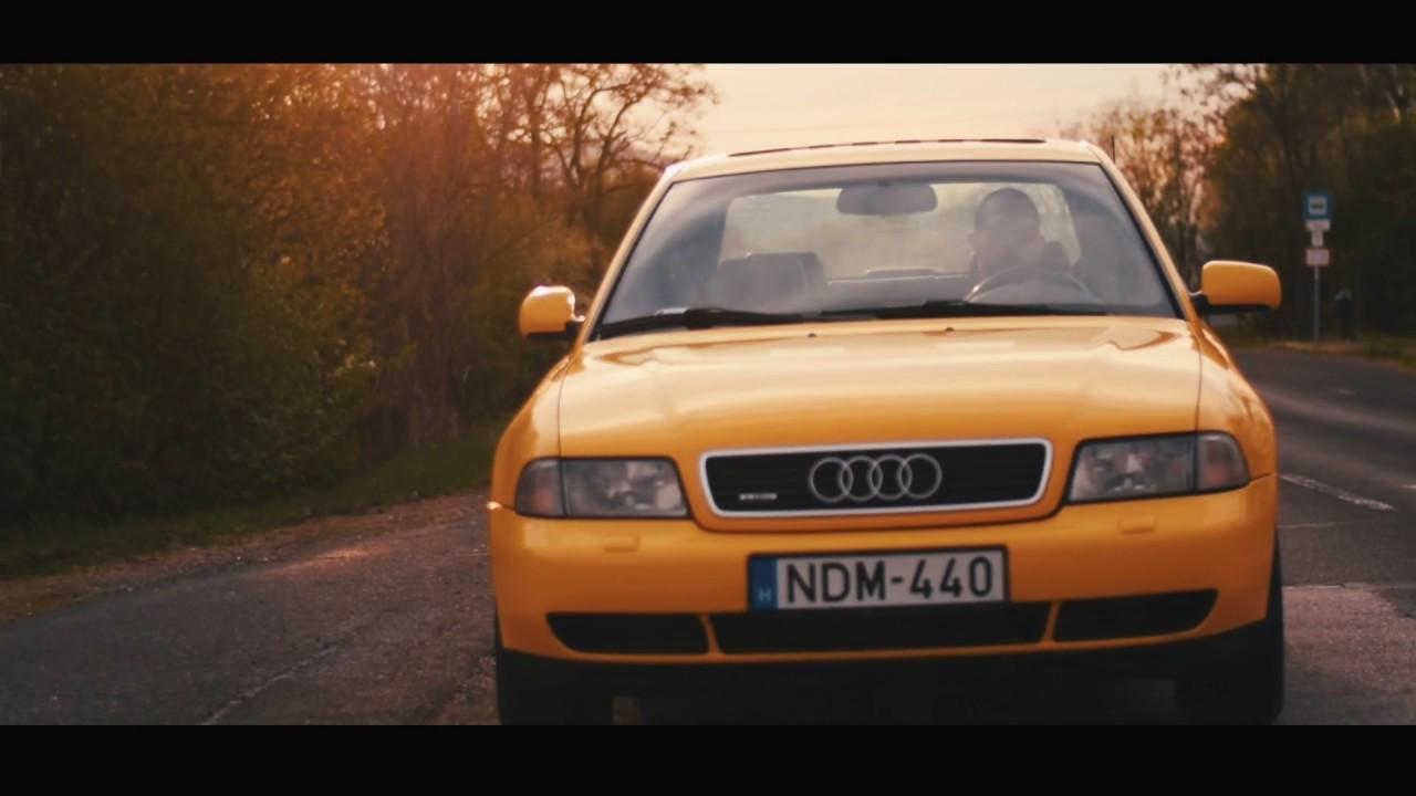 Audi A4 B5 1 8 Turbo Quattro Imola Yellow Youtube