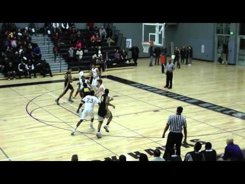 Amauri Hardy North Farmington High School 3 Game Highlight